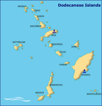 greek itineraries dodecanese