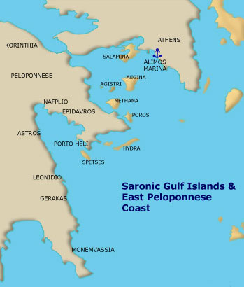greek itineraries saronic islands