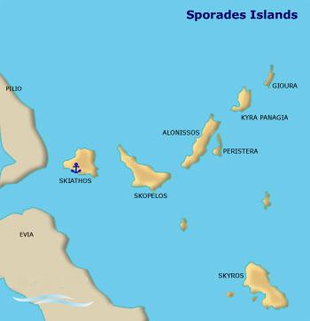 greek itineraries sporades