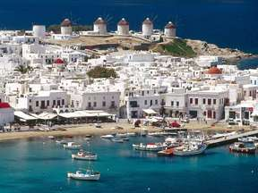 destination cyclades mykonos