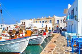 destination cyclades paros