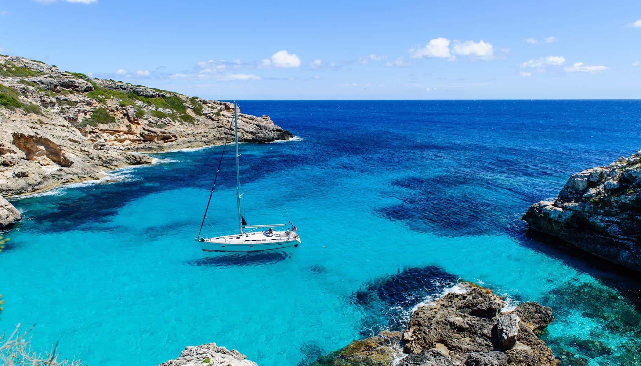 Destinations in Greece.